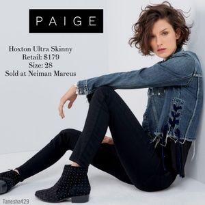Paige Hoxton Ultra Skinny Black (25)